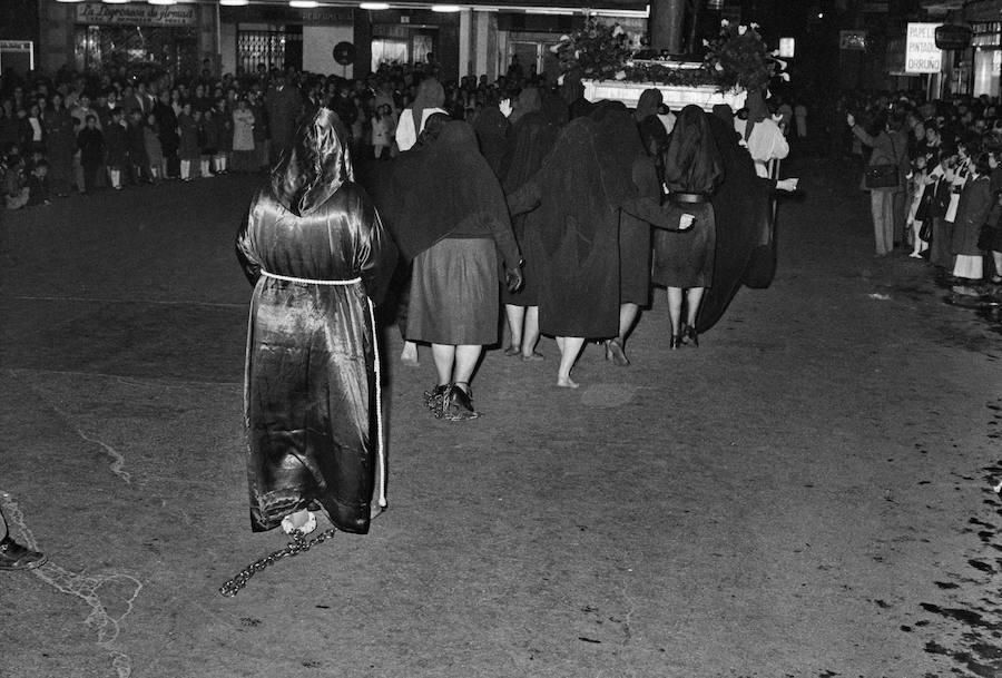 Penitentas. Teo Martínez, 1969 (Archivo Foto Teo)